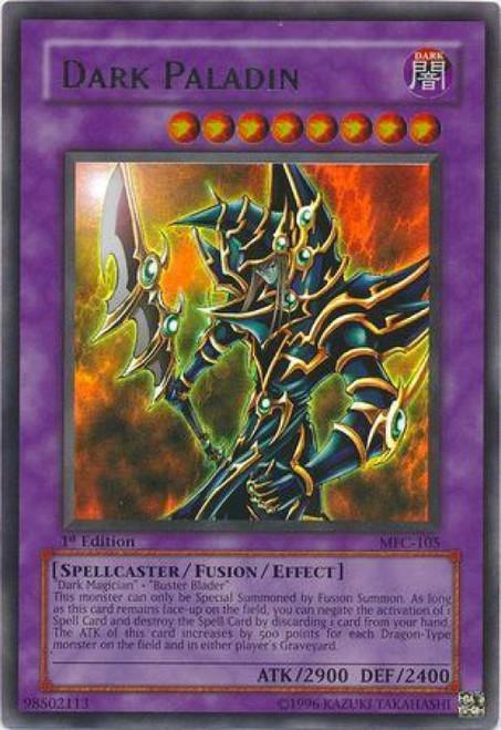 YuGiOh Magician's Force Ultra Rare Dark Paladin MFC-105