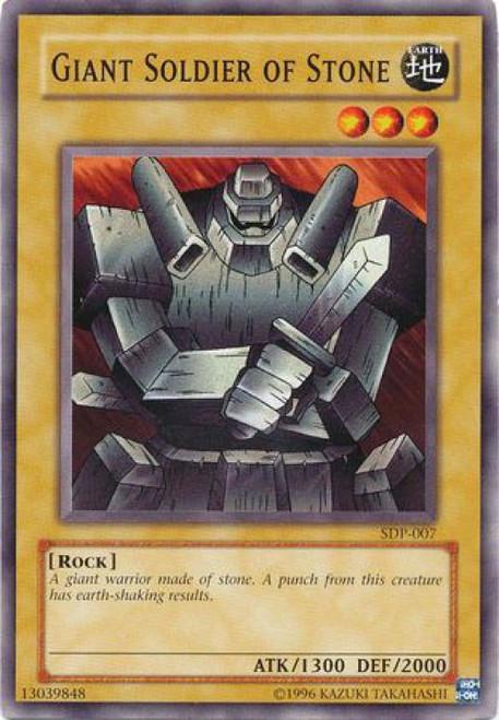 YuGiOh Pegasus Starter Deck Giant Soldier of Stone SDP-007