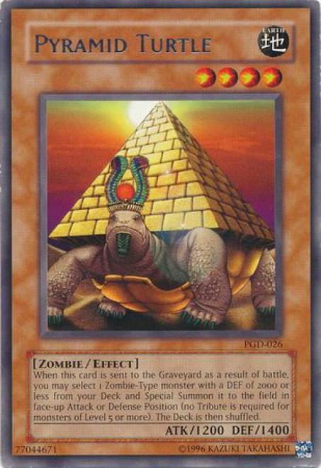 YuGiOh Pharaonic Guardian Rare Pyramid Turtle PGD-026