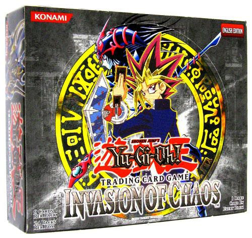 YuGiOh Trading Card Game Invasion of Chaos Booster Box [24 Packs]