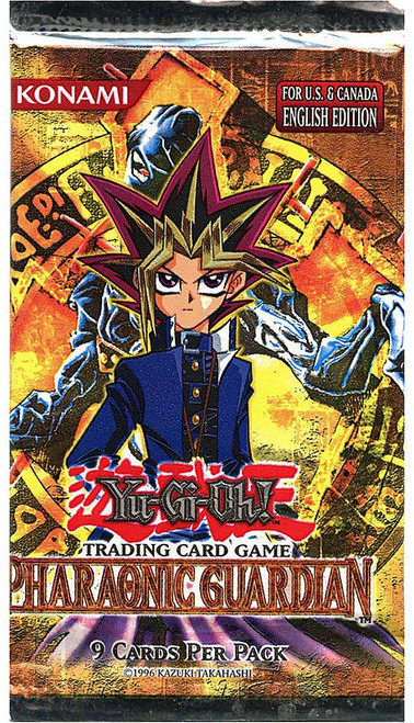 YuGiOh Trading Card Game Pharaonic Guardian Booster Pack [9 Cards]