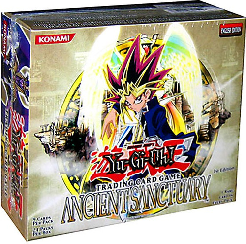 YuGiOh Trading Card Game Ancient Sanctuary Booster Box [24 Packs]
