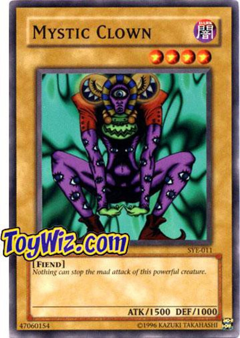 YuGiOh Yugi Evolution Deck Common Mystic Clown SYE-011