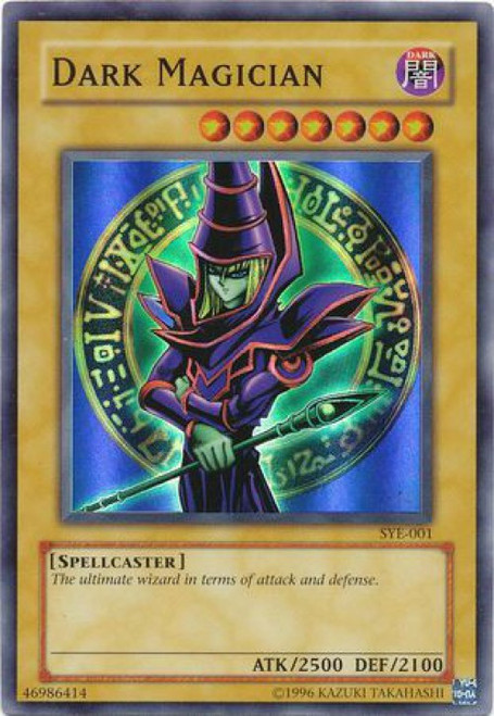 YuGiOh Yugi Evolution Deck Super Rare Dark Magician SYE-001