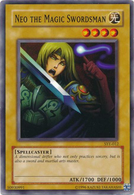 YuGiOh Yugi Evolution Deck Common Neo the Magic Swordsman SYE-012