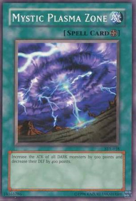YuGiOh Yugi Evolution Deck Common Mystic Plasma Zone SYE-038