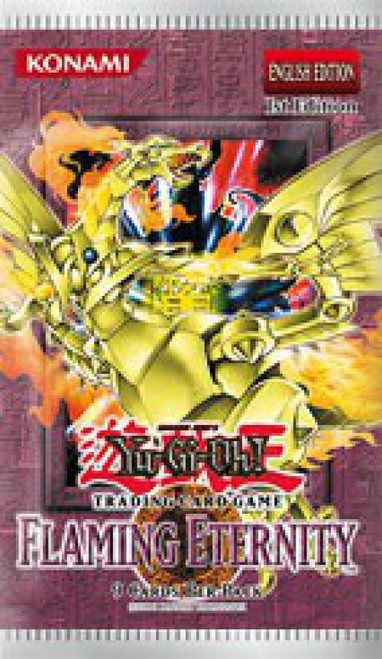 YuGiOh Trading Card Game Flaming Eternity Booster Pack