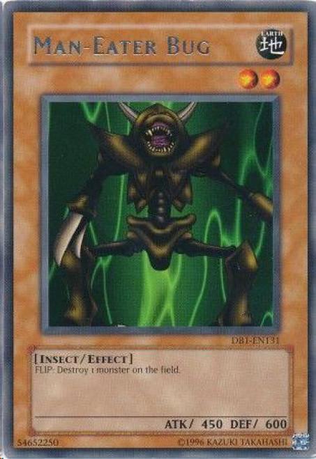 YuGiOh Dark Beginning 1 Rare Man-Eater Bug DB1-EN131