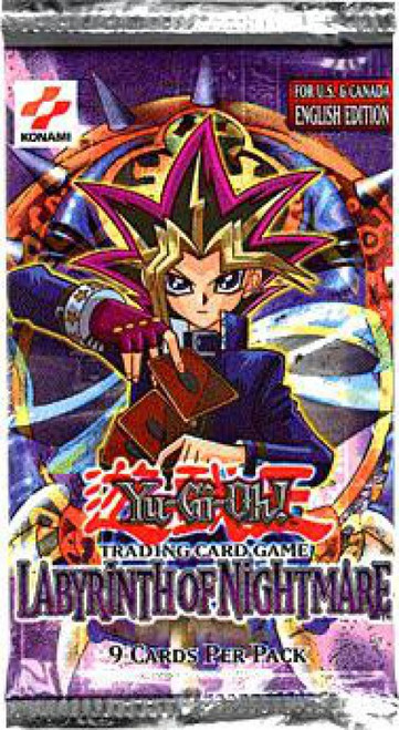 YuGiOh Trading Card Game Labyrinth of Nightmare Booster Pack