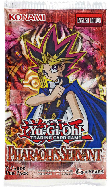 YuGiOh Trading Card Game Pharaoh's Servant (Unlimited) Booster Pack [9 Cards]