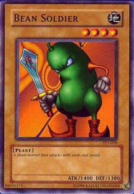 YuGiOh Tournament Pack 1 Common Bean Soldier TP1-018