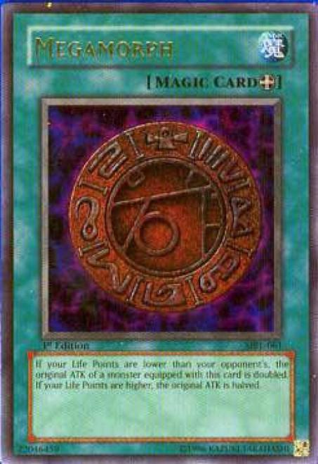 YuGiOh Magic Ruler Ultra Rare Megamorph MRL-061