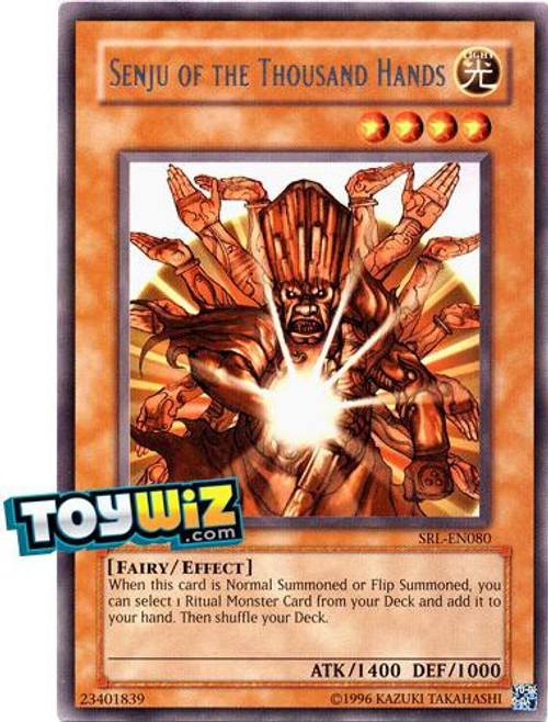 YuGiOh Magic Ruler Rare Senju of the Thousand Hands MRL-080