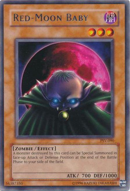 YuGiOh Pharaoh's Servant Rare Red-Moon Baby PSV-090