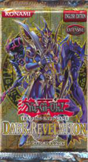 YuGiOh Trading Card Game Dark Revelation 2 Booster Pack