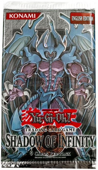 YuGiOh Trading Card Game Shadow of Infinity Booster Pack