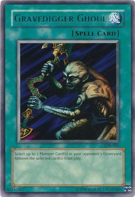 YuGiOh Legend of Blue Eyes White Dragon Rare Gravedigger Ghoul LOB-065