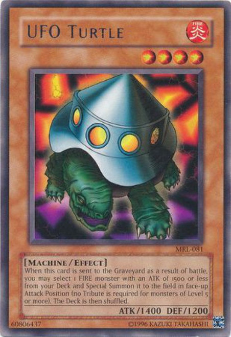 YuGiOh Magic Ruler Rare UFO Turtle MRL-081