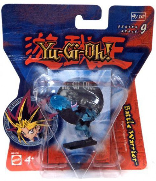 YuGiOh Series 9 Battle Warrior 2-Inch PVC Figure