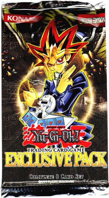 YuGiOh Trading Card Game YuGiOh: The Movie Exclusive Booster Pack [8 Cards]