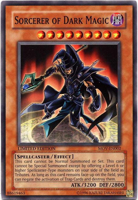 YuGiOh Movie Promo Cards Common Sorcerer of Dark Magic MOV-EN002