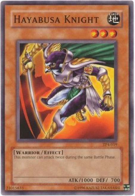 YuGiOh Tournament Pack 4 Common Hayabusa Knght TP4-019
