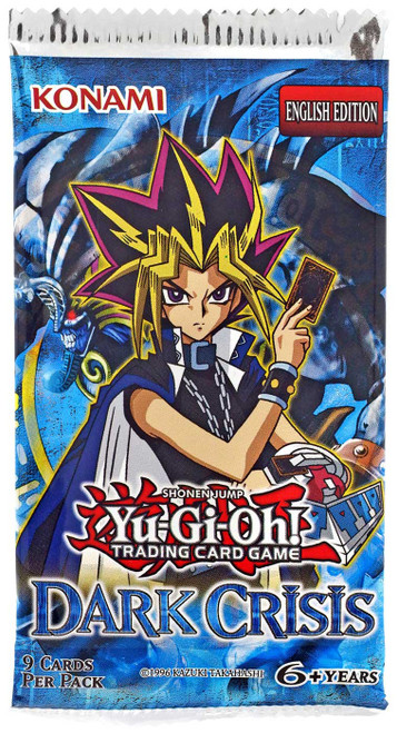 YuGiOh Trading Card Game Dark Crisis Booster Pack [9 Cards]