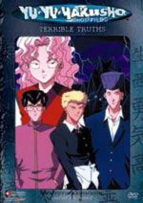Yu Yu Hakusho Chapter Black Terrible Truths DVD #20 [Uncut]