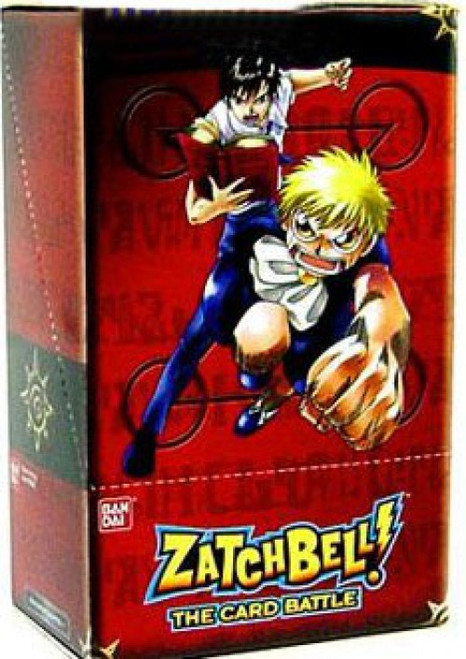 Zatch Bell Card Battle Game Basic Series 1 Booster Box [12 Packs]