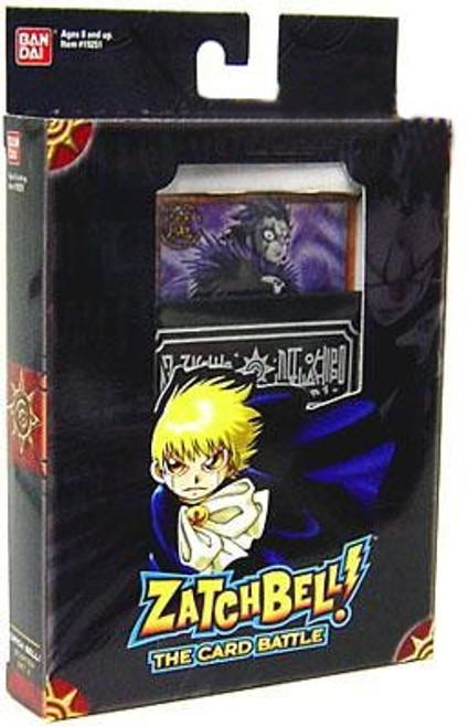 Zatch Bell Card Battle Game Brago Theme Deck