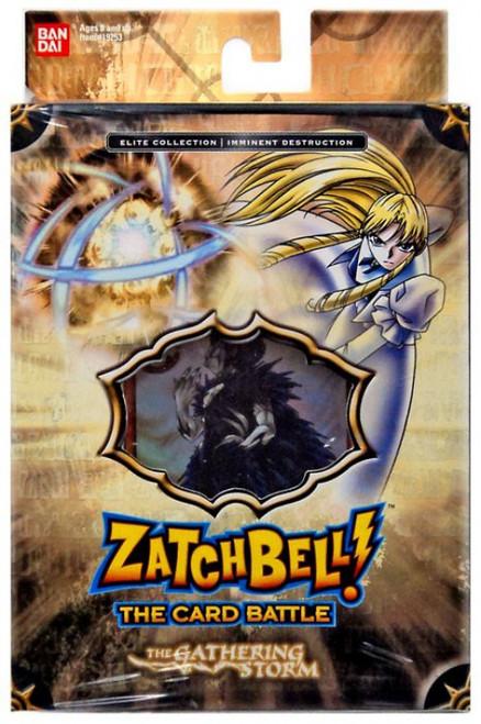 Zatch Bell Card Battle Game Gathering Storm Imminent Destruction Theme Deck [Brown Box]
