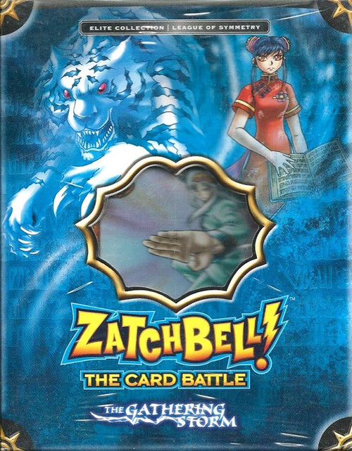 Zatch Bell Card Battle Game Gathering Storm League of Symmetry Theme Deck [Blue Box]