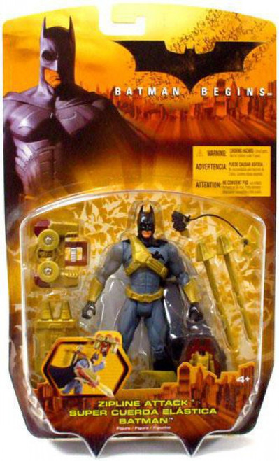 Batman Begins Batman Action Figure [Zipline Attack]