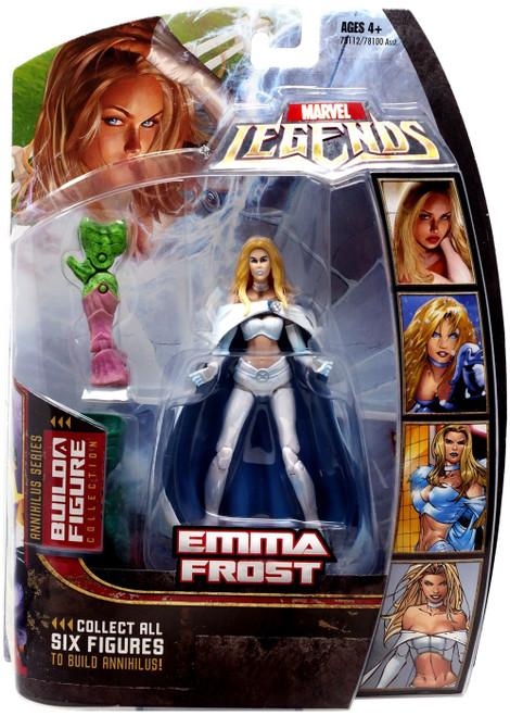 Marvel Legends Annihilus Series Emma Frost Action Figure