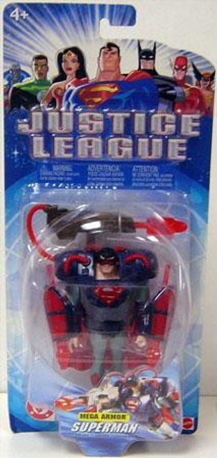 Justice League Superman Action Figure [Mega Armor]