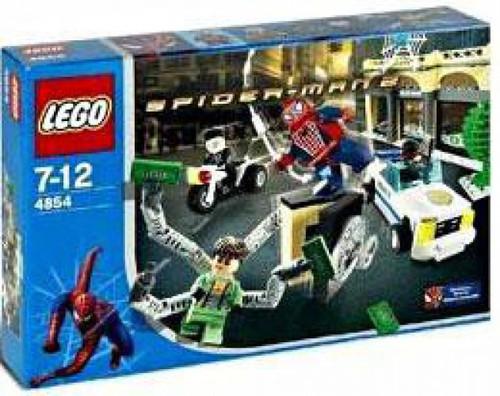 LEGO Spider-Man 2 Doc Ock's Bank Robbery Set #4854