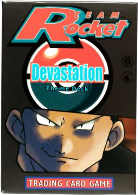 Pokemon Team Rocket Devastation Theme Deck