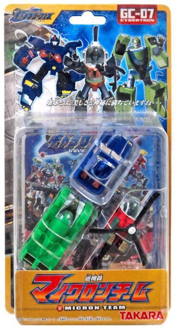 Transformers Galaxy Force Micron Team Bumper, Hop & Blit Action Figure 3-Pack GC-07