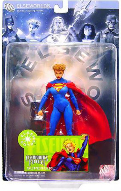 DC Elseworlds Series 3 World's Finest Supergirl Action Figure