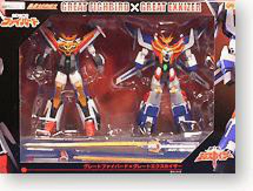 GaoGaiGar Great Fighbird & Great Exkizer Action Figure 2-Pack