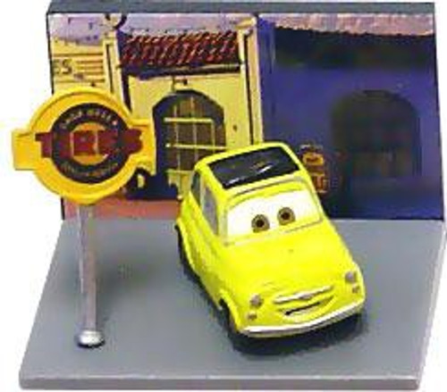 Disney / Pixar Cars Gacha Micro Figures Luigi PVC Figure