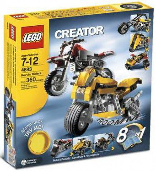 LEGO Creator Revvin' Riders Set #4893