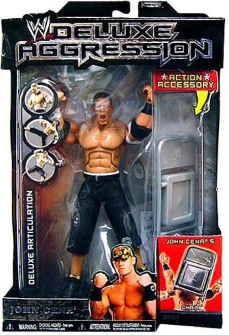 WWE Wrestling Deluxe Aggression Series 5 John Cena Action Figure