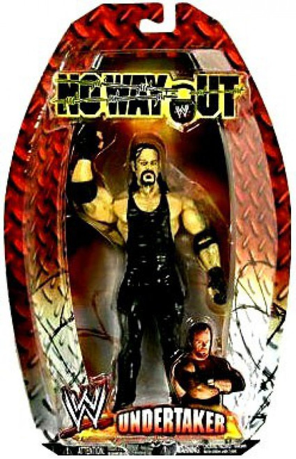 WWE Wrestling Pay Per View Series 12 No Way Out Undertaker Action Figure