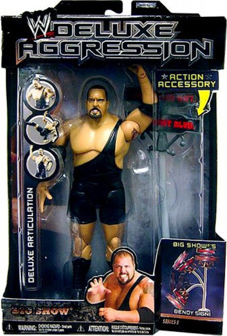 WWE Wrestling Deluxe Aggression Series 5 Big Show Action Figure