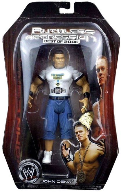 WWE Wrestling Ruthless Aggression Best of 2006 John Cena Action Figure