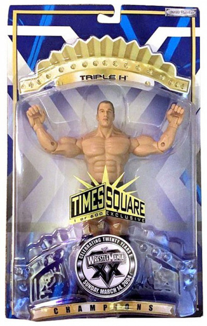 WWE Wrestling WrestleMania 20 Champions Triple H Action Figure