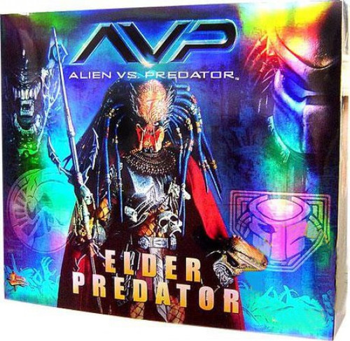 Alien vs Predator Movie Masterpiece Elder Predator Collectible Figure