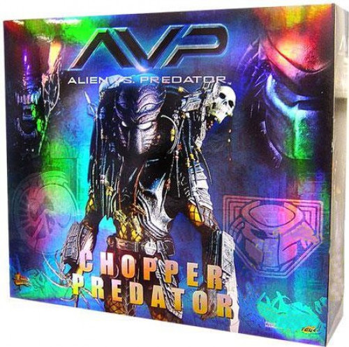 Alien vs Predator Movie Masterpiece Chopper Predator Collectible Figure