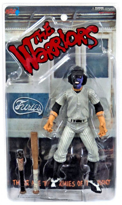 The Warriors Purple & Black Faced Baseball Fury Exclusive Action Figure [Clean Version]